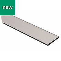 Anodised Aluminium Flat sheet (H)2mm (W)25mm (L)1m