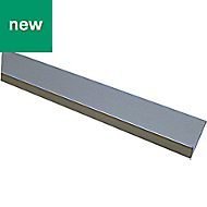 Anodised Aluminium L-shaped Unequal angle (H)15mm (W)25mm (L)1m