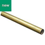 Brass Round tube (L)1m (D)6mm