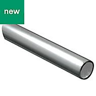 Aluminium Round Tube, (L)1m (Dia)12mm