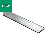 Raw Aluminium Flat sheet (H)2mm (W)10mm (L)1m