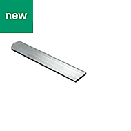 Raw Aluminium Flat bar (H)2mm (W)20mm (L)1m