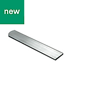 Aluminium Flat Bar, (L)1000mm (W)25mm (T)2mm