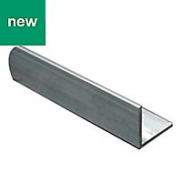 Aluminium Equal angle (H)35mm (W)35mm (L)1m