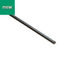 Varnished Drawn steel Bar (H)4mm (L)1m