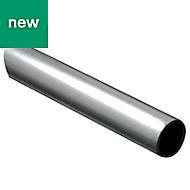 Aluminium Round Rod, (L)1m (Dia)6mm