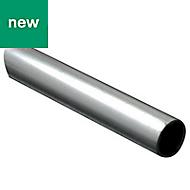 Aluminium Round Rod, (L)1m (Dia)8mm