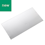 Aluminium Panel (L)0.5m (W)250mm (T)0.5mm