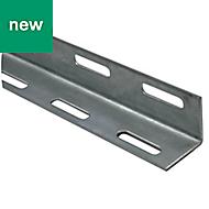 Varnished Cold-pressed steel L-shaped Equal angle (H)27mm (W)27mm (L)2m