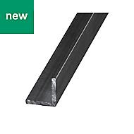 Varnished Hot-rolled steel L-shaped Equal angle (H)25mm (W)25mm (L)2.5m
