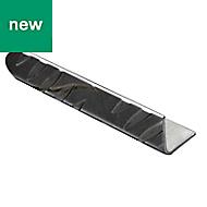 Aluminium L-shaped Equal angle (H)40mm (W)40mm (L)2m