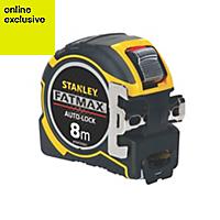 Stanley FatMax Autolock XTHT0-33501 8m Tape Measure