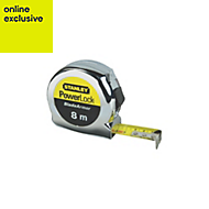 Stanley Powerlock 0-33-527 8m Tape Measure
