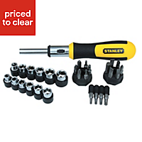 Stanley Multi-bit ratchet screwdriver
