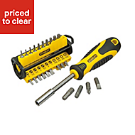 Stanley 34 Piece Slotted Screwdriver set