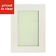 IT Kitchens Stonefield Ivory Classic Glazed Cabinet door (W)500mm