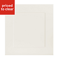 IT Kitchens Stonefield Ivory Classic Oven housing Cabinet door (W)600mm