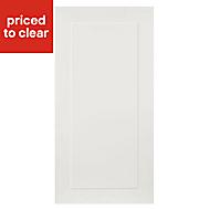 IT Kitchens Stonefield Ivory Classic Fridge/Freezer Cabinet door (W)600mm
