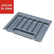IT Kitchens Plastic Utensil tray, (H)50mm (W)533mm