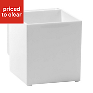 Hang-It White 30L Plastic Storage box