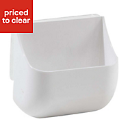 Hang-It White 84L Plastic Small Box