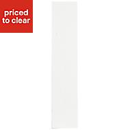 IT Kitchens Santini Gloss White Slab Standard Cabinet door (W)150mm