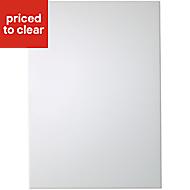 IT Kitchens Santini Gloss White Slab Standard Cabinet door (W)500mm