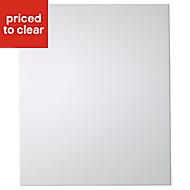 IT Kitchens Santini Gloss White Slab Standard Cabinet door (W)600mm