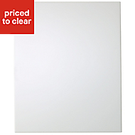 IT Kitchens Santini Gloss White Slab Integrated appliance Cabinet door (W)600mm
