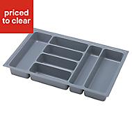 IT Kitchens Plastic Utensil tray, (H)90mm (W)705mm
