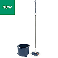 Elephant Maison Blue & grey Mop kit