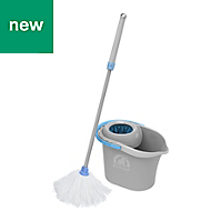 Elephant Maison Blue & grey Power mop kit