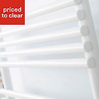Acova Cala 378W White Towel warmer (H)721mm (W)500mm