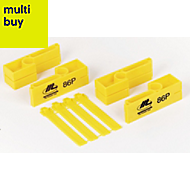 Marshalltown Yellow Plastic Line boxes, Pack of 2