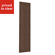 Form Darwin Modular Walnut effect Large wardrobe door (H)2288mm (W)497mm