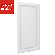 Form Darwin Modular White Matt Chest cabinet door (H)958mm (W)497mm