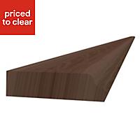 Form Darwin Walnut effect Plinth (L)3050mm