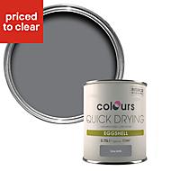 Colours Grey slate Eggshell Wood & metal paint 750 ml