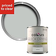 Colours Quick dry Light rain Eggshell Wood & metal paint 750 ml