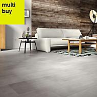 Colours Leggiero Grey Concrete effect Laminate flooring, 1.72m² Pack