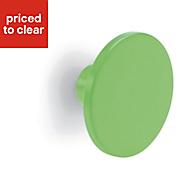 Form Darwin Green Matt Circular Bedroom Handle Handle (D)40 mm