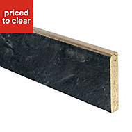 Basalt Slate effect Upstand (L)3000mm
