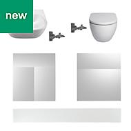 Cooke & Lewis Santini White Bathroom pack