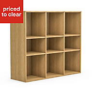 Form Konnect Oak effect Storage unit (H)862mm (W)1032mm