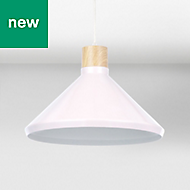 Colours Selma Gloss Pink Cone Light shade (D)350mm