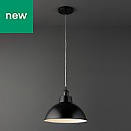 Normann Matt black Modern Ceiling light