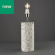 Rutherford Large Terrazzo White Incandescent Table light