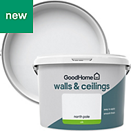 GoodHome Walls & ceilings North pole Silk Emulsion paint 2.5L