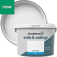 GoodHome Walls & ceilings North pole Matt Emulsion paint 2.5L