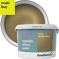 GoodHome Feature wall Coachella Metallic effect Emulsion paint 2L